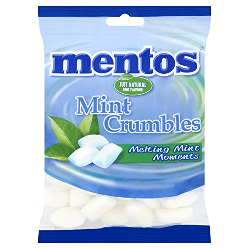 Mentos Mint Crumbles 200 g (Pack of 12)