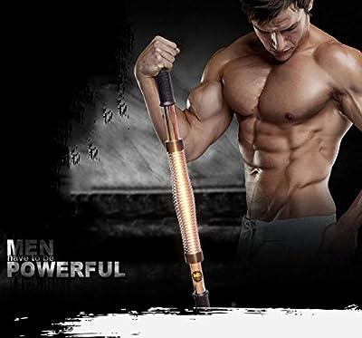 WEYON Biegehantel Königsfeder Fitnessgeräte für Arm training Power Twister Fitness Training Spannfeder 30kg, 40kg, 50kg, 60kg.