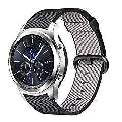 Barran® Samsung Gear S3 Classic Straps, Woven Nylon Fabric Sport Wristband Strap Watchband For Samsung Gear S3 Classic