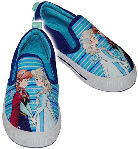 """alles-meine.de GmbH Canvas Schuhe / Sneaker - Größe 25 - \"""" Disney Frozen - die Eiskönigin  - Slipper mit Profilsohle - Schlupfschuhe - Sportschuhe & Turnschuhe / Leinenschuhe - .."""