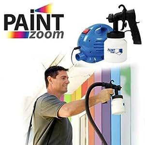 paint zoom spritzpistole zum lackieren mit kompressor. Black Bedroom Furniture Sets. Home Design Ideas