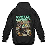 MG Coheed And Cambria Poster Hooded Sweatshirt For Men Black