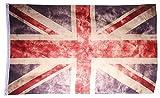 UK Fahne Vintage Retro Flagge United Kingdom 90 x 150 cm Shabby Style