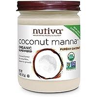 445ml Nutiva coco orgánico Maná