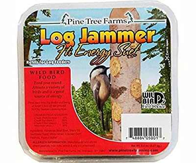 Log Jammers Hi Energy Suet by Pine Tree Farms