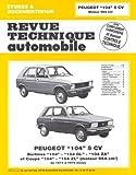 Revue Technique Automobile, numéro 327.3 peugeot 104, 5 cv - 1973/1979. Peugeot 104, 5 cv, de 1973 à 1979