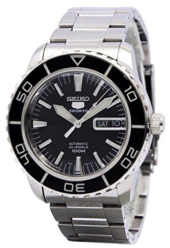 Seiko Herren-Armbanduhr (Seiko Uhr Silber-herren)