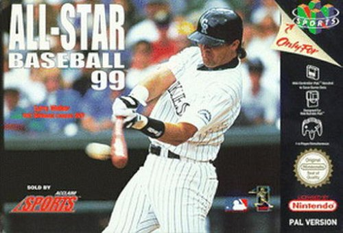 All Star Baseball 99 (All Baseball Star)