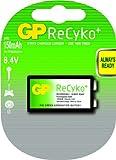 GP ReCyko+ Akku (9V, E-Block, HR 22, NiMH, 8,4V)