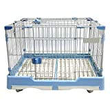 DZLA Cages pour Grands Chiens avec Deux Portes...