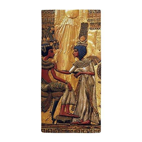 CafePress-Tutanchamun anchesenamun Ägypten Gold-Große Strandtuch, weiche 76,2x 152,4cm Handtuch mit Einzigartiges Design