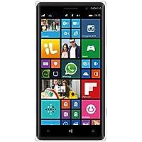 Nokia Lumia 830 Smartphone, 16 GB, Fotocamera da 10 MP, Display da 5'', LTE, Bianco [Italia]