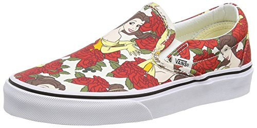 White Baskets Belle Classic Mixte True On Bianco Disney Adulte Cassé Vans White Slip Basses Blanc H7tqBvA