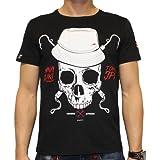 MINAZUKI, Herren T-Shirt, Skull Hooks, MZ-TS-004