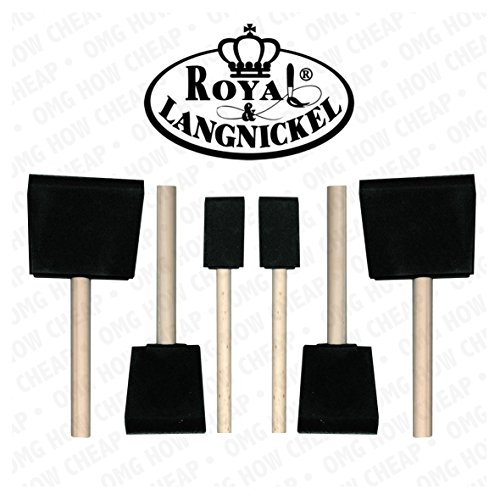 royal-and-langnickel-6-art-foam-brush-set-2-x-1-inch-2-x-2-inch-and-2-x-3-inch-by-royal-langnickel