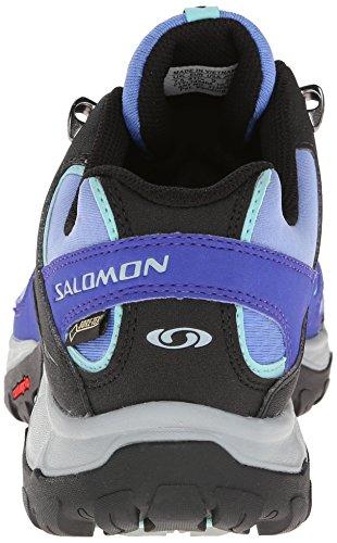 Salomon Damen Ellipse Gtx Trekking-& Wanderhalbschuhe Blau (Petunia Blue/Spectrum Blue/Topaz Bl)