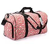 Best Overnight Bags For Women - DEMOMENT Large Holdall Weekend Bag Gym Travel Bag Review
