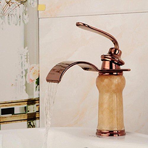Lina-Moderna Jade Golden acqua calda e fredda caso Vasca Doccia batteria