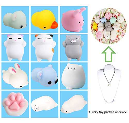 Sunny 1pcs Accessories Random Animal Anti Stress Ball Fun Antistress Extruding Big Raised Eyes Doll Squeezing Pandent For Bag Luggage & Bags