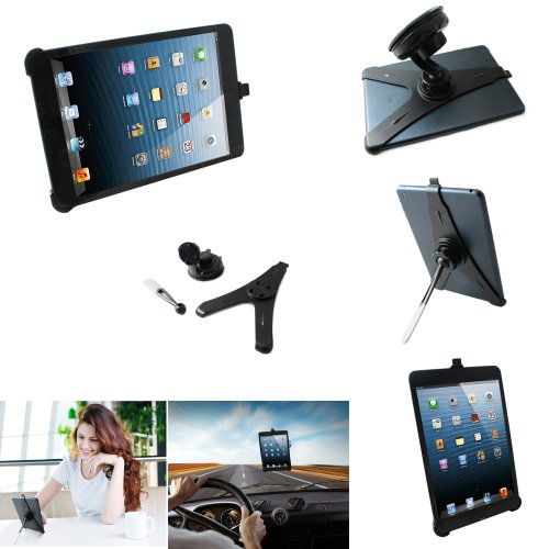 CaseGuru-Multi-Usage-Dashboard-Glass-Window-Suction-in-Car-Holder-Mount-Console-Desktop-Stand-Viewing-Stand-360-Degrees-Fully-Rotating-Special-Holder-for-Apple-iPad-Mini