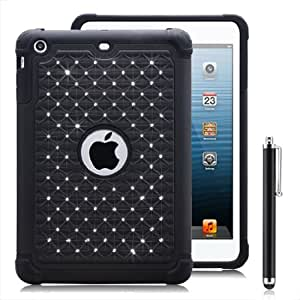 32nd Twinkle shock proof case cover for Apple iPad Mini (1st, 2nd and 3rd Gen) - Black