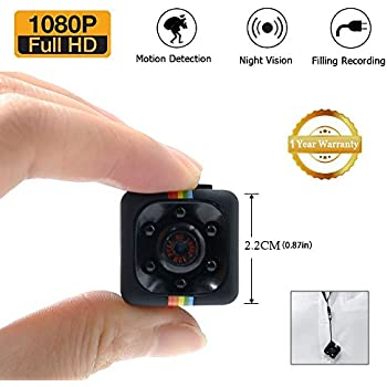 1080p mini spy cam hidden lxmimi hd nanny web cam with night vision and motion detection for. Black Bedroom Furniture Sets. Home Design Ideas