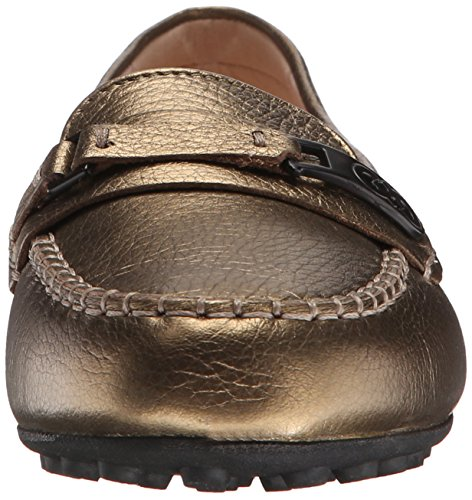 Cole Haan Isabeli Pilote Slip-on Mocassins Charcoal Gold/Metallic