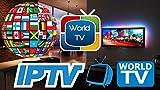 Fire TV Stick 4K mit 12 Monaten IPTV 6000+ Fernsehsender (mit Adult) Alexa Voice...