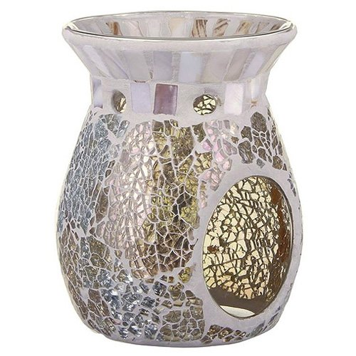 """Yankee Candle """"Gold and Pearl Wax Burner, Multi-Colour"""