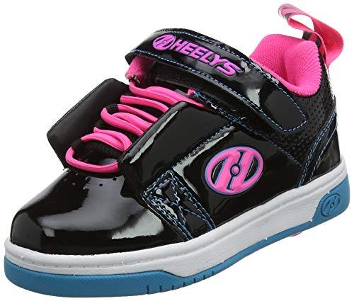 Heelys Mädchen Rift X2 Sneaker, Schwarz (Black/Neon Pink/Cyan Black/Neon Pink/Cyan), 30 EU