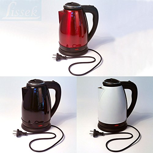 Wasserkocher 1,7 Liter Weiß 1500W