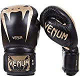 Venum Giant 3.0 Gants de boxe Muay Thai, Kick Boxing, Noir / Or, 10 oz
