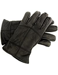 Mens Soft Sheepskin Real Leather Gloves Thinsulate Lined GL318
