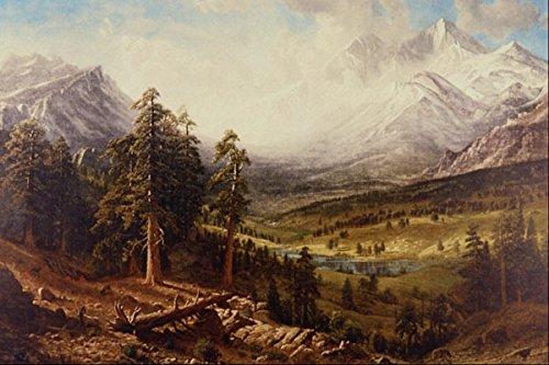 502045 _Estes Park_ Albert Bierstadt A4 Photo Poster Print 10x8 (Park Estes Bierstadt Albert)