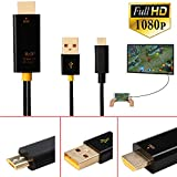 Colorful Micro USB zu HDMI Adapter 1080P Lightning Kabel Adapter für Samsung