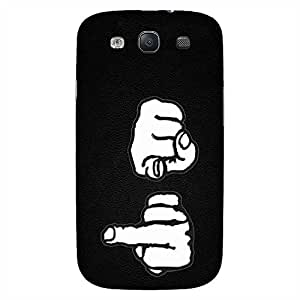 MOBO MONKEY Designer Printed Hard Back Case Cover for Samsung Galaxy S3 I9300 - Premium Quality Ultra Slim & Tough Protective Mobile Phone Case & Cover