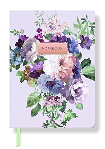 Fransen Studio Classic Rose Paperback Tagebuch, flexibles Cover Papier, 15,2x 21cm 208linierte Seiten (969014) (Seite Fringe)