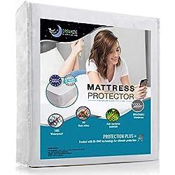 Wasserdichter Matratzenschoner 90 x 190/200 cm - Atmungsaktiv, Anti-Allergisch, gegen Milben Matratzenauflage für Kinder - Matratzenbezug mit neuartiger Behandlung: Optimaler Schutz - 10 Jahre Garanti