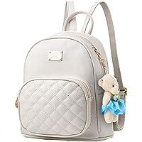 Mini zaino in pelle PU carino casual impermeabile scuola borsa da viaggio Daypacks piccola borsa per ragazze adolescenti…