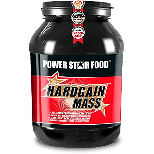 WEIGHT GAINER für HARDGAINER & MASSEPHASE - 406 kcal pro Kalorienshake - für mehr Masse, Kraft & schnelleren Muskelaufbau - Made in Germany (Vanille, 2000 g Dose)