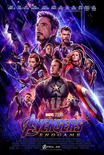 The Avengers Endgame - U.S Movie Wall Poster Print - 30cm x 43cm / 12 Inches x 17 Inches -