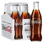 Diet Coke Glass Bottles, 4 x 250 ml