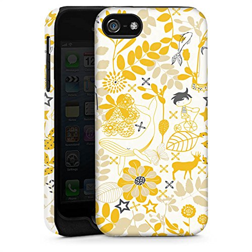 Apple iPhone 6 Housse Étui Silicone Coque Protection Motif Motif Fleurs Cas Tough brillant