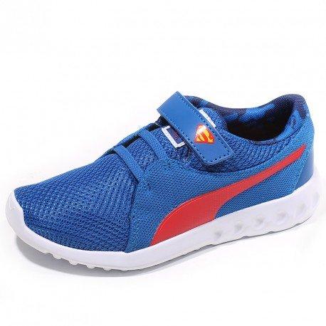Puma Chaussures Carson 2 V Superman Bleu Garçon