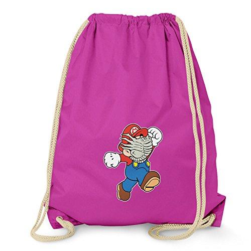NERDO Mario Face Hug - Turnbeutel, -