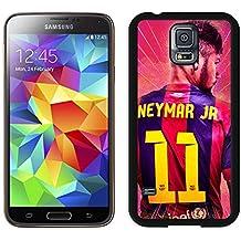 Samsung Galaxy S5G9008V Neymar FC Barcelona Pantalla Negra Celphone caso hermoso y Grace mira