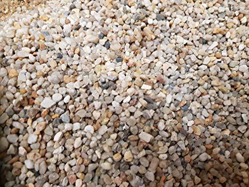 Ghiaia per acquario, da 1kg fino a 30kg -Sabbia quarzosa–Grana arrotondata 3,0–6,0mm
