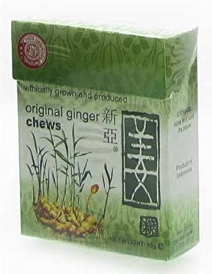 Original Ginger Chews 60g from St Andrews Trade Co.