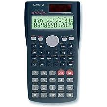 CASIO FX-85MS wissenschaftlicher Taschenrechner / Schulrechner zweizeilig mit 240 Funktionen, Solar/Batterie