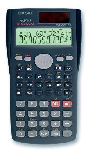 CASIO FX-85MS wissenschaftlicher Taschenrechner/Schulrechner zweizeilig mit 240 Funktionen,...